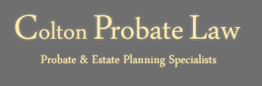 Colton Probate Law