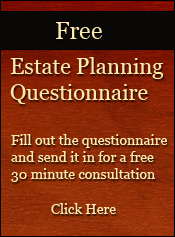 Free Estate Planning Questionnaire